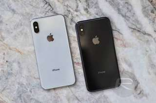 Apple iPhone X 256GB Silver Or Gray Garansi Internasional