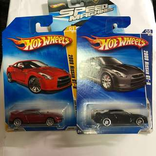 🚚 Hot Wheels Nissan GTR R35