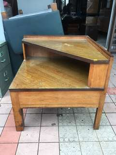 Vintage L Shape coffee table