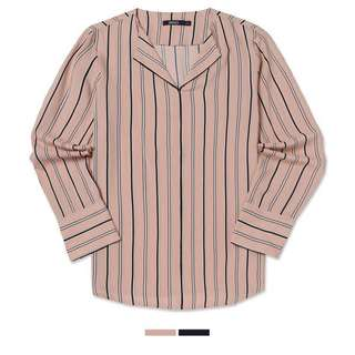 SPAO Striped Blouse