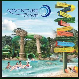 Adventure Cove Sentosa - Annual Pass(UNLIMITED) Ticket - Adult