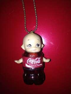 Kewpie x Coca Cola Keychain