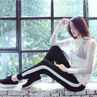 [PO] Striped Band Sweatpants
