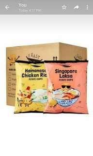 FEAST Singapore Snacks