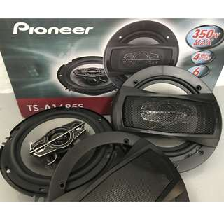 Pioneer TS-A1695S 6 inch 350watts 4-way Speakers