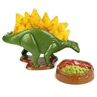 🚚 Barbuzzo NACHOsaurus Dip and Snack Dish Set