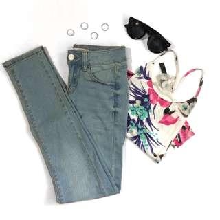 Bershka midwaist jeans