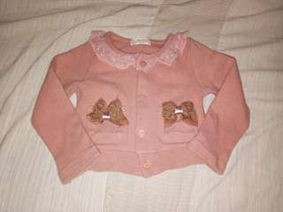 Jacket for baby girl