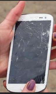 Buying Cracked Samsung Phones