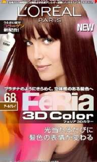 *new* L'Oréal Feria 3D colour