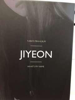 T-ara Jiyeon智妍mini album淨專