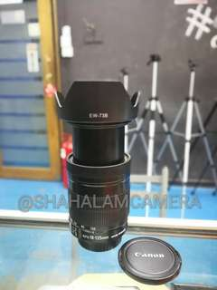 (USED) CANON EF-S 18-135MM F/3.5-5.6 IS LENS