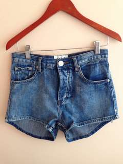 One Teaspoon Denim Shorts