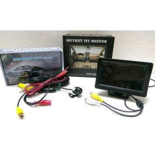 4.3' LCD TFT Rear-view Monitor for Reverse Camera