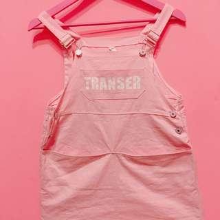🚚 甜美女神粉色吊帶裙