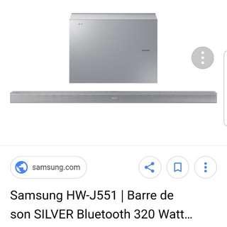 Samsung Soundbar HWJ-551
