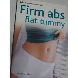 Firm abs flat tummy - book on abs exercising