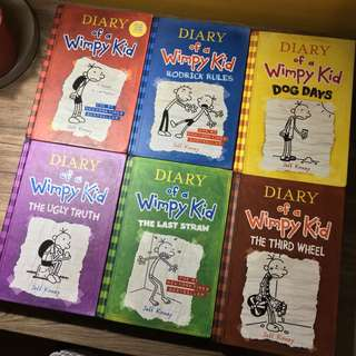 Hard Bound Diary Of A Wimpy Kid Books