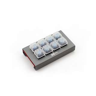 MAX Falcon-8 Custom Programmable Mini Macropad Mechanical Keyboard