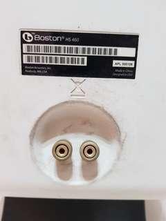 Speakers boton