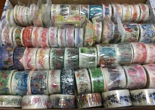 (Instock) Assorted Washi Tapes 2