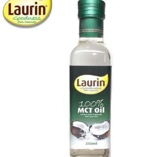 菲律賓原裝進口-Laurin 100% MCT 椰子油250ml