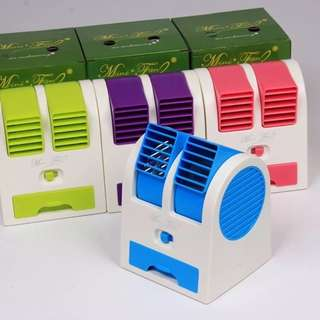 Mini Dual Aircon Fan