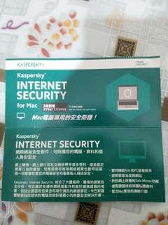 Mac 3年防毒key