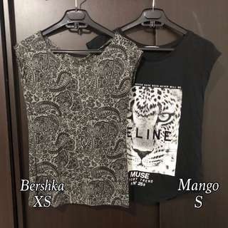 TAKE ALL! Bershka & Mango t-shirt