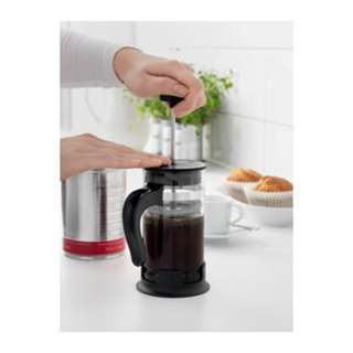 Ikea Upphetta  Coffee/Tea French Press 0.4L  Glass&Stainless Steel