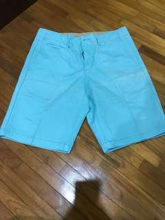 Men Baby Blue Pants