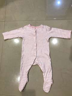 MOTHERCARE Baby Girl Sleepsuits