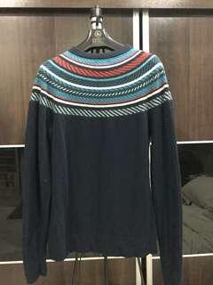 Tribal Wool Blend Sweater