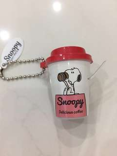 Kawaii  !!  Snoopy Cup Touch Light From Japan