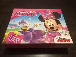 Disney Junior Minnie Box Set 4 Books