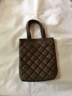 (BN) NARAYA Quilted Lunch Tote Bag
