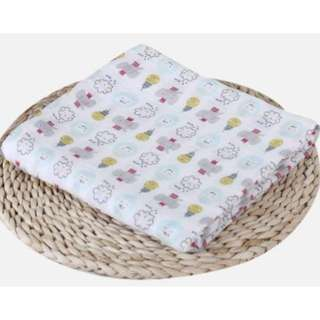Muslin tree★ Multi-use Baby Swaddle ★Newborn infant blanket ★ Muslin Swaddle ★ 120x120cm ★ Ultra Soft material double layer★ Breathable
