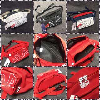 Fila and Adidas Belt Bag