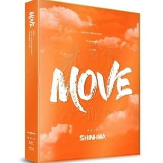 <<代購>> Shinhwa - Shinhwa 19th Anniversary Summer Live Move Bul-ray