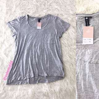 VL5989 cotton on grey slouchy top