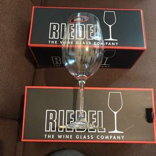 Riedel red wine glasses 100%new and new$250一隻