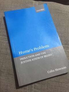 Hume's Problem: Induction and Justification of Belief