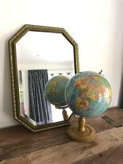 Vintage Japanese globe