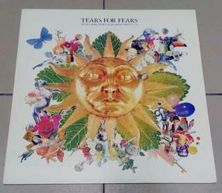 arthlp TEARS FOR FEARS Tears Roll Down (Greatest Hits 82-92) EU Press LP Vinyl Record