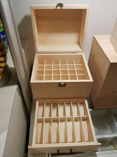 AS-IF Wooden box for Essential Oil