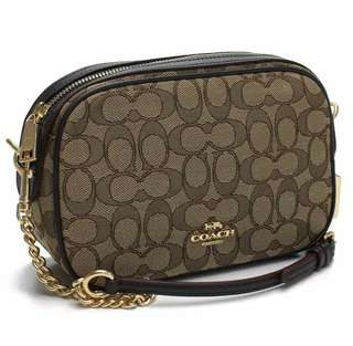 COACH ISLA CHAIN CROSSBODY IN SIGNATURE CANVAS (F28959)