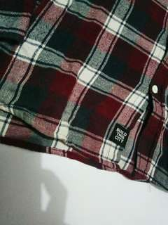 Flanel unkl size l
