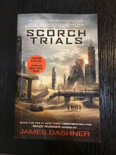 THE SCORCH TRIALS novel