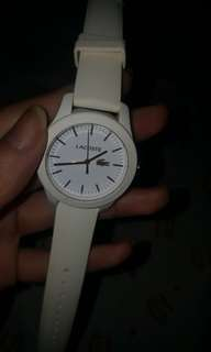 Lacoste White Watch
