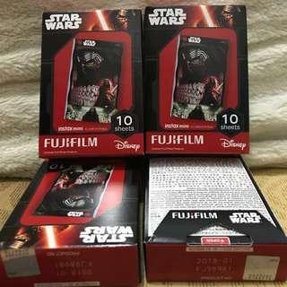 🚚 拍立得底片Fujifilm instax Mini系列-星際大戰原力覺醒